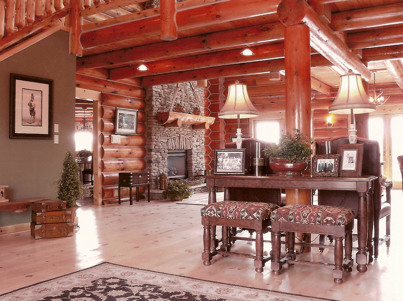 wonderful log home interior colors pictures simple design home